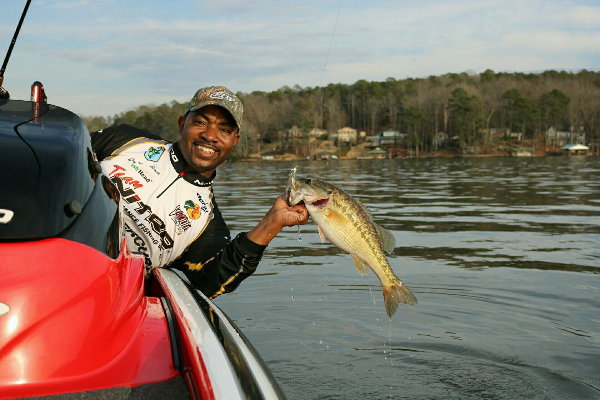 Ga military veteran becomes fishing pro for Bass pro spring fishing classic 2017