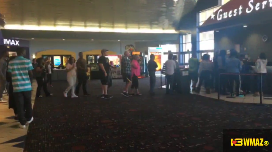 amstar theater  zebulon road walmart turning away customers due to power outages