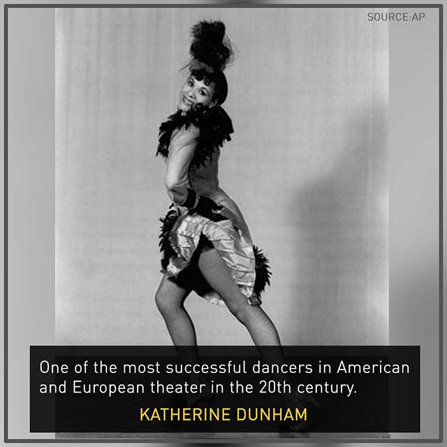 "the career of katherine dunham theatre essay Katherine dunham, ""the dunham schools,"" an unpublished paper, dated 1964, in the katherine mary dunham papers, special collections, morris library, southern illinois university at carbondale printed with permission in kaiso: writings by and about katherine dunham, edited by vévé clark and sara e johnson,university of wisconsin press, 2005."