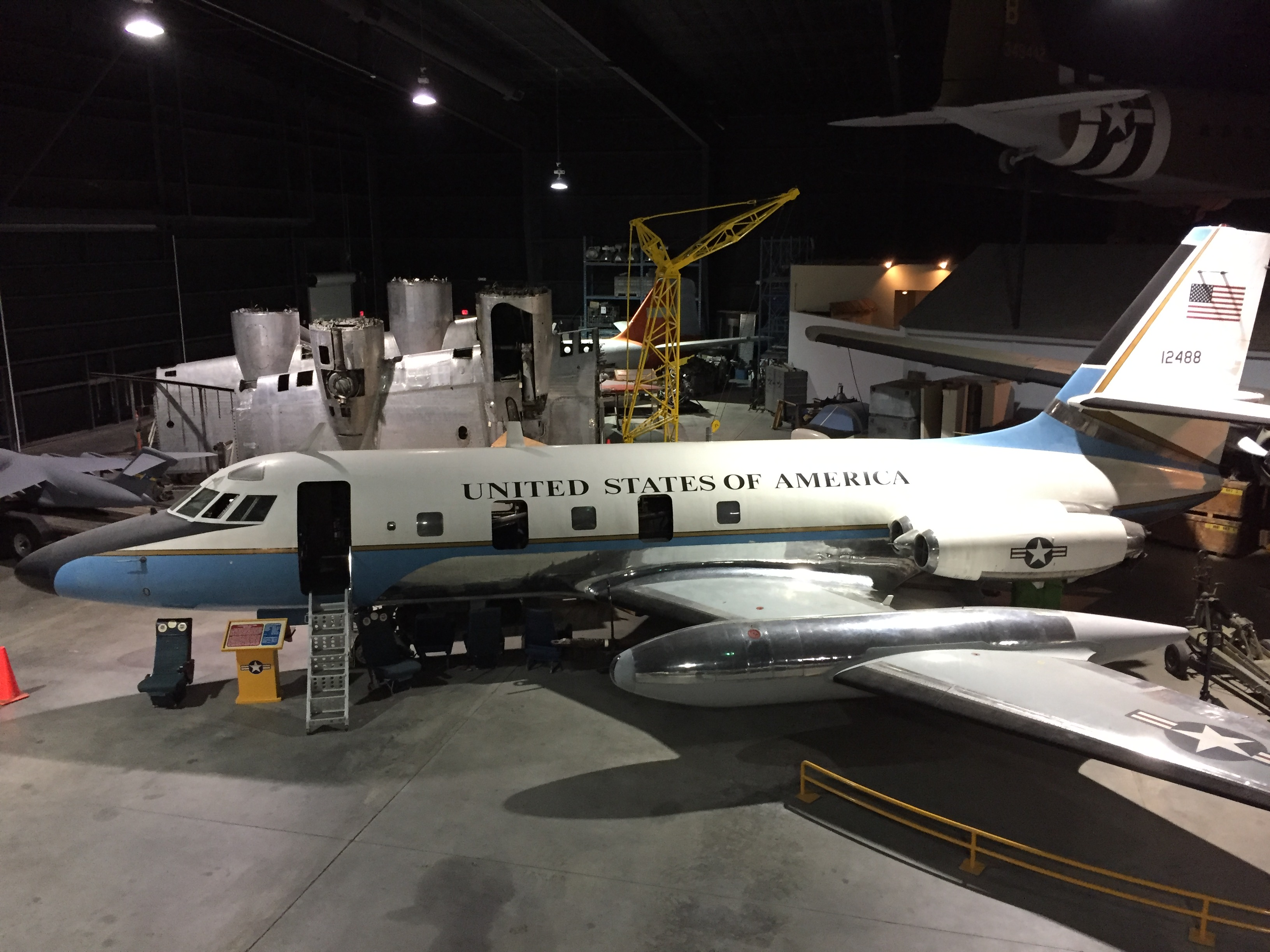 First Look: Planes awaiting restoration at the Museum of Aviation